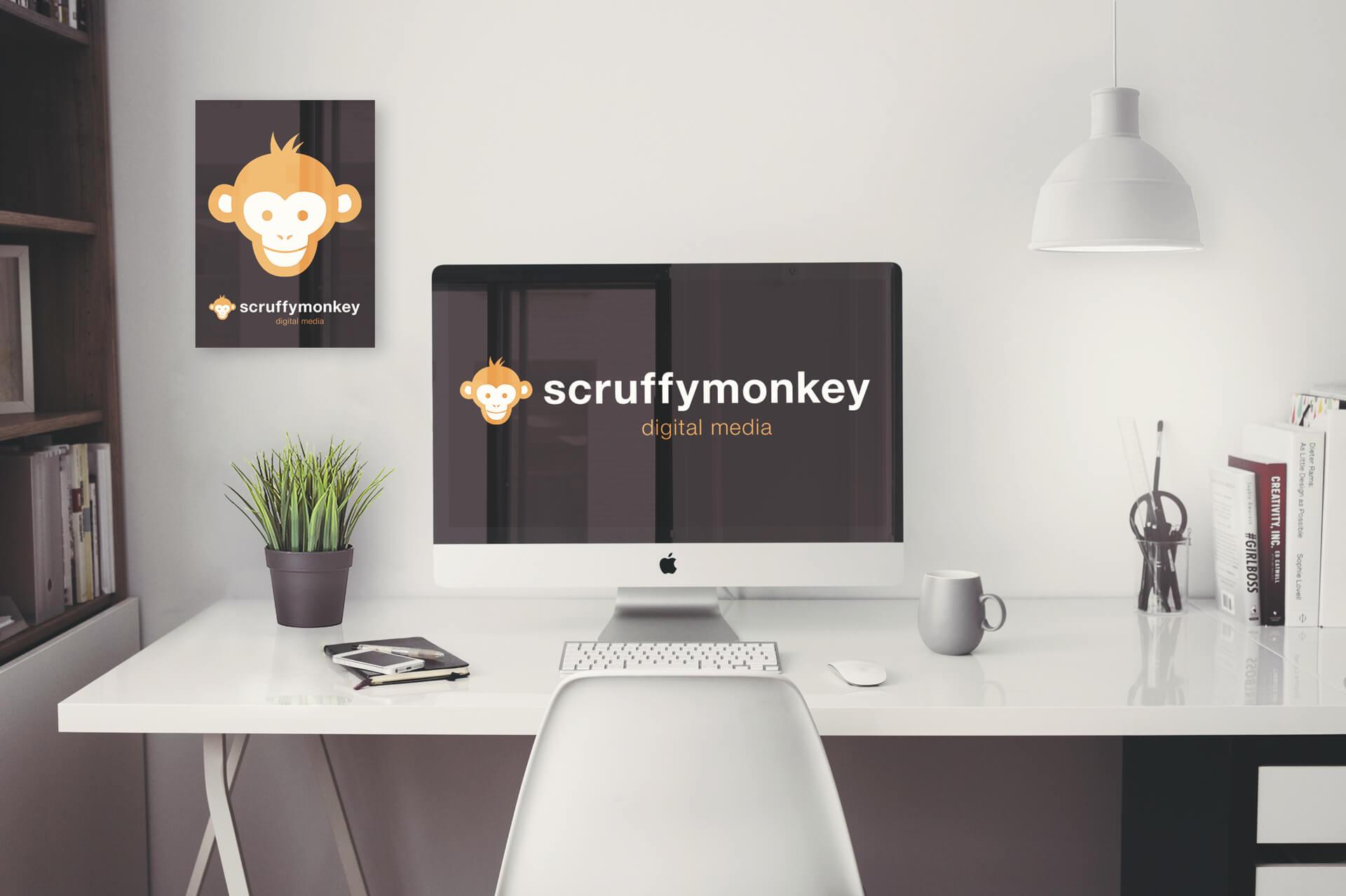 Scruffymonkey Website Design Bolton - Office Mockup