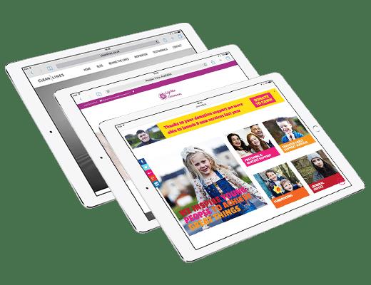 Scruffymonkey Web Design Bolton Responsive iPads