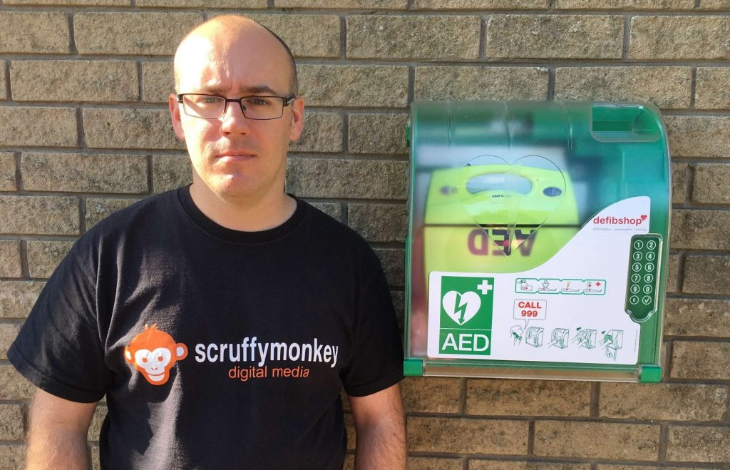 Scruffymonkey Web Design Bolton Defibrillator Photo