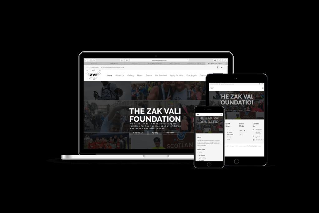 Scruffymonkey Web Design Bolton Zak Vali Responsive Layout