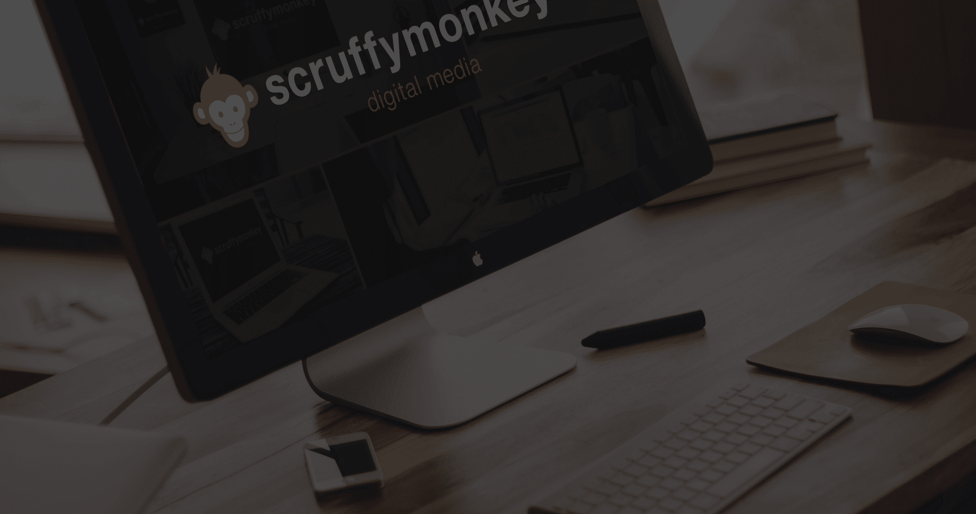 Scruffymonkey Web Design Bolton Dark Parallax Background