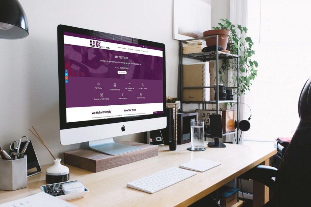 uk test ltd scruffymonkey web design bolton 01204 214228